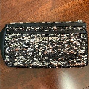 Victoria Secret sequin clutch/Make up case